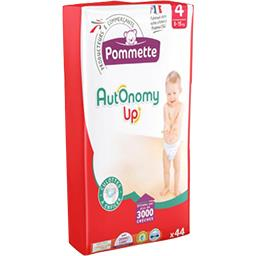 Autonomy Up - Couches taille 4 : 8-15 kg