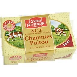 Beurre extra-fin Charentes Poitou AOP doux
