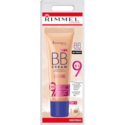 Rimmel London Baume de beauté BB Cream 9en1 00 Medium le tube de 30 ml