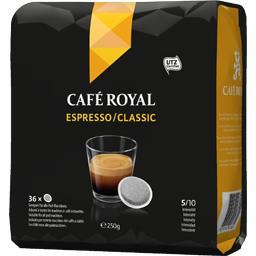 Dosettes de café Espresso/Classic