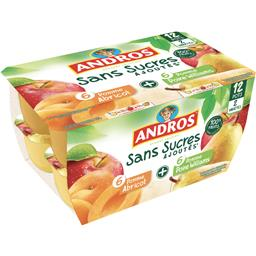 Sans Sucres Ajoutés - Dessert de fruits 2 variétés