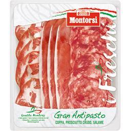 Gran Antipasto, assiette italienne, jambon italien, ...