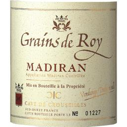 Madiran vin rouge Grains de Roy