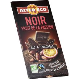 Chocolat noir d'Equateur fruit de la passion BIO