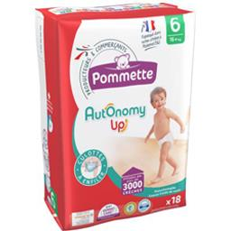 Couches culotte Autonomy Up, taille 6 : 16+ kg