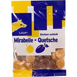 Bonbon acidulé mirabelle quetsche