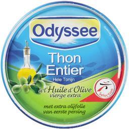 Thon entier à l'huile d'olive vierge extra