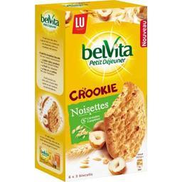 Belvita Petit Déjeuner - Crookie noisettes & 5 céréales complètes