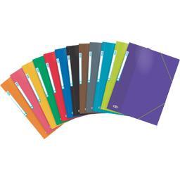 Chemise Color Life A4 carte lustrée coloris assortis