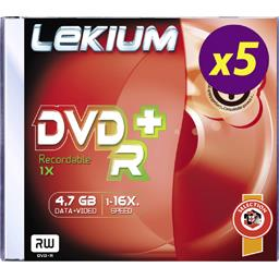 DVD+R 4,7GB 8X JEWEL