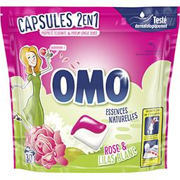 Omo Capsules de lessive Fleurs des Tropiques & Magnolia