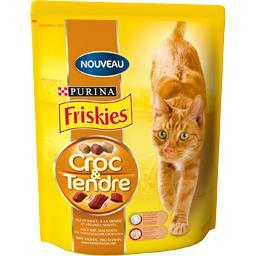 Croquettes Croc & Tendre poulet/dinde pour chats