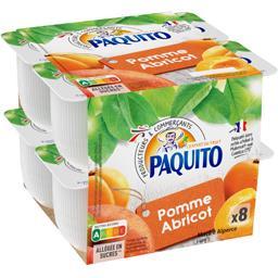 Spécialité de fruits pomme/abricot