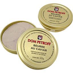 Beurre au caviar