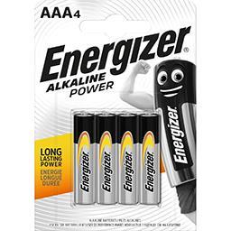 Energizer Alkaline Power - Piles alcalines AAA LR03 1,5 V