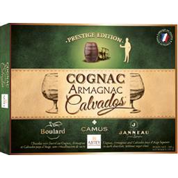 Abtey Chocolat noir fourré Cognac Armagnac Calvados