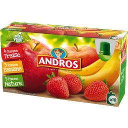 Desserts fruitiers assortis
