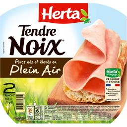 Tendre Noix - Jambon de porcs plein air
