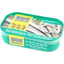 Sardines portugaises à l'huile d'olive