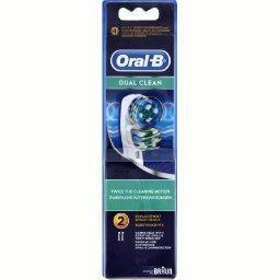Oral B Têtes pour brosses à dents électriques, dual clean
