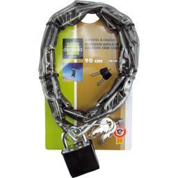 Antivol chaine avec cadenas