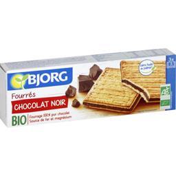 Biscuits fourrés chocolat noir BIO
