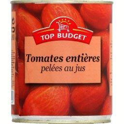 Tomates entières pelées au jus