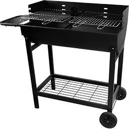 Barbecue 76x40 cm Todo