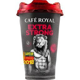 Boisson Espresso Extra Strong au café avec lait,CAFE ROYAL,la boite de 230 ml