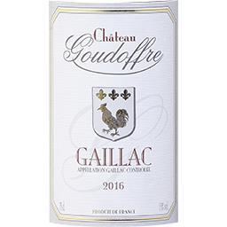 Gaillac Château Goudouffre vin Rouge 2016