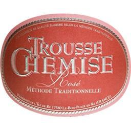 Trousse chemise, vin rosé