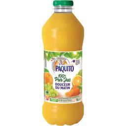 Paquito Jus de fruits Douceur du Matin 100% pur jus la bouteille de 1 l