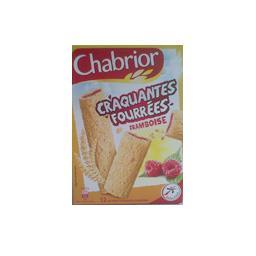 Bâtonnets de céréales Craquantes Fourrées framboise