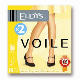 Collants voile gris T2