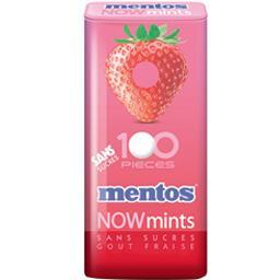 Nowmints - Bonbons goût fraise sans sucres