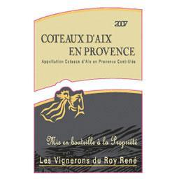 Châteaux d'Aix en Provence,vin rouge