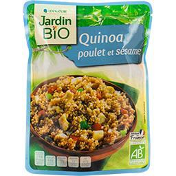 Quinoa poulet et sésame BIO