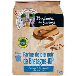 Farine de blé noir de Bretagne