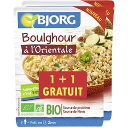 Bjorg Boulghour à l'orientale BIO le sachet de 220 g