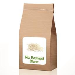 Riz blanc basmati À partir de 50 gr