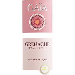 Vin de Pays d'Oc Gaïa Grenache BIO, vin rosé