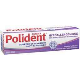 Crème fixative hypoallergénique