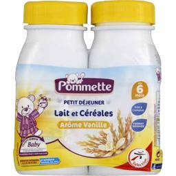 Petit Déjeuner - Lait et céréales arôme vanille, dès...