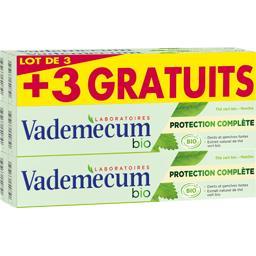 Vademecum BIO - Dentifrice Protection Complète le tubes de 75 ml