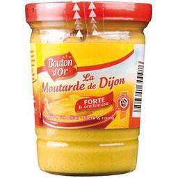 Moutarde de Dijon, verre cannelé