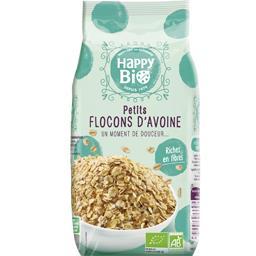 Happy bio Petits flocons d'avoine BIO le paquet de 500 g
