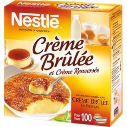Préparation en poudre pour crème brûlée & crème renversée, la boîte d'1,NESTLE,la boîte d'1,3 Kg