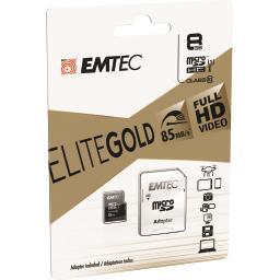 Carte mémoire micro SDHC 8GB UHS1 U1 EliteGold
