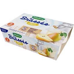 Les Brassés - Dessert lacté poire Williams, de 8 à 3...