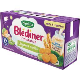 Blédîner Croissance - Céréales et légumes variés, dè...